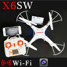 X6sw WIFI Toys Camera RC helicopter drone quadcopter gopro professional drones
