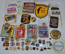 Vintage Job Lot  Speedway Finals Motorcycle Motorbike Badges Pins& Other-PL-2449