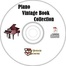 Vintage Piano Book Collection on CD - Learn How to Play the Piano