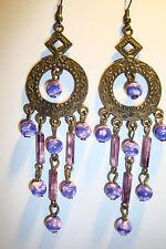 Large Long Indian~Asian Ethnic Boho Chandelier Earrings~ER78~uk seller~