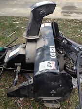 "BERCOMAC 40"" SNOWBLOWER WITH MOUNTING BRACKET/WEIGHTS/CHAINS/BOOKLET"