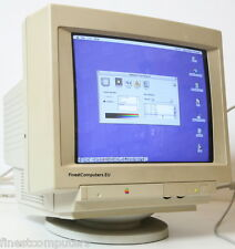 "Apple più scan 15 Display 15"" CRT Monitor per Vingage computer Macintosh"