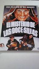 """DVD """"EL MISTERIO DE LAS DOCE SILLAS"""" COMO NUEVA MEL BROOKS FRANK LANGELLA"""