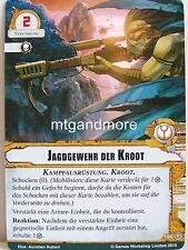 Warhammer 40000 Conquest LCG - 1x #104 Jagdgewehr der Kroot - Gegen den Feind