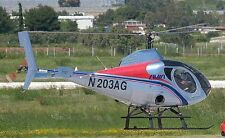 Schweizer 333 Light Utility and Trainer Helicopter Wood Model Large