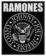 THE RAMONES - Patch Aufnäher - Classic Seal 10x8cm NEU