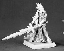 Avrix Dark Elf Champion Darkreach Warlord Reaper Miniatures RPG Paladin Fighter