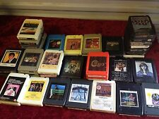 Lot of 44 Rock- -8 Track Tapes (KISS, ELVIS, BEACH BOYS ETC