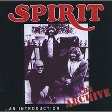 Spirit The Archive...An Introduction CD NEW SEALED 2008