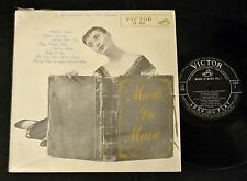 "50's JAPAN 10"" LP Emery Deutsch Consuelo Velazquez Victor 526 Moods In Music"