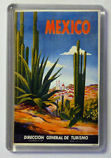 Mexico Vintage Travel Poster Fridge Magnet