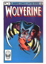 WOLVERINE Limited Mini Series #2 Chris Claremont Frank Miller 9.2