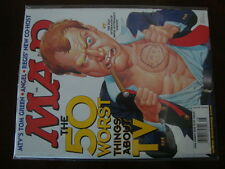 Mad Magazine #396 NICE 50 Worst Things About TV