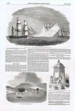 1850 Arctic Expedition Sir John Franklin Maria Island Lichfield Cathedral Monume