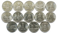 Russia 5 rubles 2016 14 coins set Liberated in WWII European capitals (#2812)