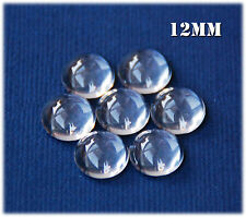 20 x 12mm Clear Round Glass Dome Magnifying Cabochons., scrapbooking, craft!