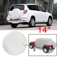 "White Spare Wheel Tire Cover Spare Tire Cover For Honda CR-V Tire Cover 26"" 27"""