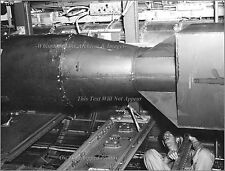 Photo: Atomic Bomb Little Boy On Board The B-29 Bomber Enola Gay On Tinian, 1945