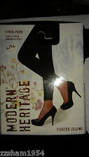 Modern Heritage Fleece TIGHTS FOOTLESS Warm Soft Comfortable L/XL NWT MSRP $16