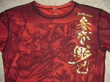 Affliction RO CHI SHIN Dri Fit COMPRESSION Fit GSP Shirt XL MMA New!