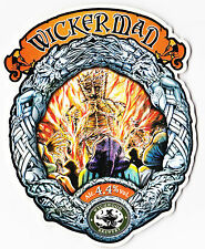 WYCHWOOD BREWERY HOBGOBLIN RARE WICKERMAN  OLD VERSION PUMP CLIP FACE ONLY