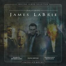 JAMES LABRIE - ORIGINAL ALBUM COLLECTION:DISCOVERING JAMES LABRIE 3 CD NEW+