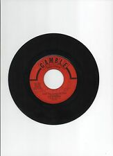 """THE INTRUDERS 7"""" STOCK VG 45rpm GAMBLE #317 COWBOYS TO GIRLS B/W HANDS OF TIME"""