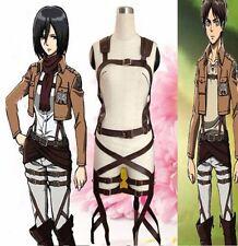 Attack On Titan Shingeki no Kyojin Cosplay Belts Adjustable Harness Straps UK