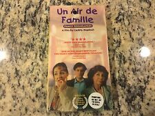 UN AIR DE FAMILLE RARE NEW SEALED VHS 1996 FRENCH w/ENGLISH SUBTITLES FOREIGN!