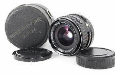 PENTAX SMC 24mm F2.8 MF Wide Angle Lens w/Case [Excellent++] From JAPAN Free/S