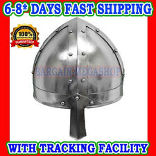 NORMAN GREEK HELMET-Medieval Costume - WARRIOR ARMOR With Leather Liner