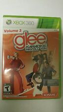 NEW FACTORY SEALED GAME ONLY GLEE KARAOKE REVOLUTION FOR  XBOX 360