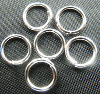 Wholesale Free Ship 2000pcs silver plated jump ring 6mm