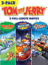 Tom & Jerry Movies 3-Pack (DVD, 2013, 3-Disc Set)