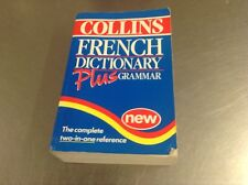 French Dictionary Plus Grammar by HarperCollins Publishers (Paperback, 1997)