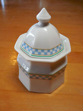 Studio Nova COUNTRY CAFE BLUE Y0055 Sugar with Lid
