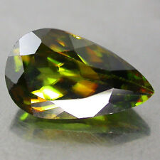2.07Cts. Fabulous Vivid Multi Color Flash Spark 100%Natural Sphene,titanite P/s
