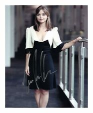 JENNA LOUISE COLEMAN AUTOGRAPHED SIGNED A4 PP POSTER PHOTO