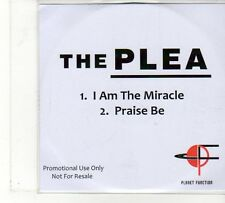 (FU841) The Plea, I Am The Miracle / Praise Be - DJ CD
