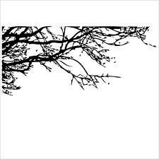 black tree branch right  home decals living room DIY removable Wall stickers