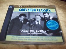 IL GOON MOSTRA CLASSICI BBC RADIO 2 CD: SHUT UP ECCLES! TESTA HEAD SHAVER LOST