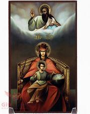 """Wooden Icon of Our Lady Derzhavnaya Державная Икона Божией Матери 4.6"""" x 7.5"""""""