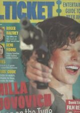 THE WHO ROGER DALTRY MILA JOVOVICH DEMI MOORE UK supplement 2006