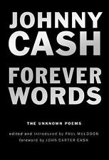 FREE 2 DAY SHIPPING | Forever Words: The Unknown Poems, HARDCOVER, Johnny Cash