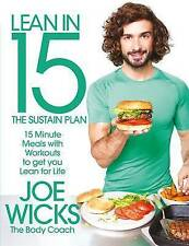 Joe Wicks Lean in 15 - The Sustain Plan Diet Muscle Cook Book Healthy Eating PB