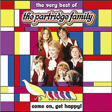 Come on Get Happy!: The Very Best of Partridge Family (CD) Disc Only, Free Ship