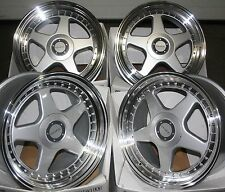 "18"" DR-F5 ALLOY WHEELS FITS 5X100 AUDI VW CRYSLER SEAT SKODA TOYOTA VOLKSWAGEN"