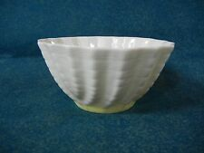 Belleek Ireland Limpet Yellow Open Sugar Bowl(s) Nut / Mint Cup 3rd Green Mark