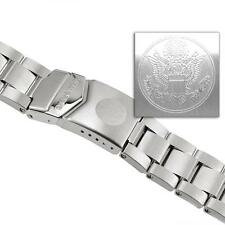 US Military Marathon Stainless Steel Bracelet For JSAR, JDD, CSAR - 22mm NEW