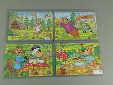 Puzzle: yogi Bear (extérieur) 1995-super puzzle + toutes les 4 BPZ